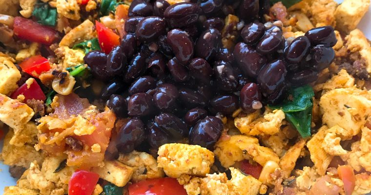 Vegan Tofu Scramble {My Fave}