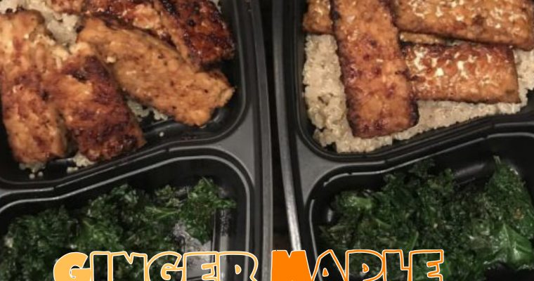 Vegan Ginger Maple Tempeh