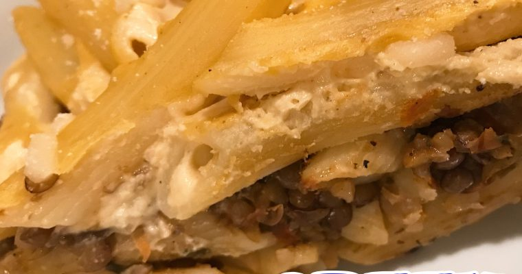 Vegan Greek Pastitsio
