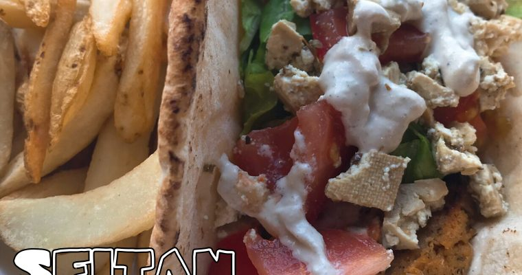 Vegan Greek Inspired Seitan Gyros