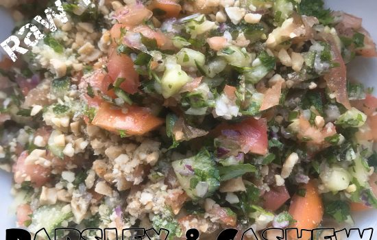 Parsley & Cashew Tabbouleh