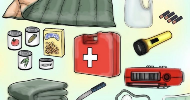Emergency bags for the entire family