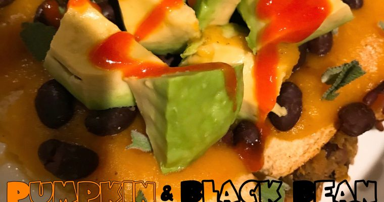 Vegan Pumpkin & Black Bean Corn Taquitos