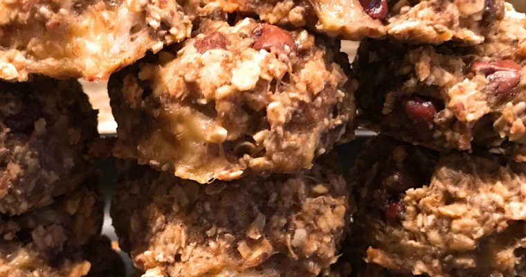 Vegan Breakfast Peanut Butter Oat Cookies