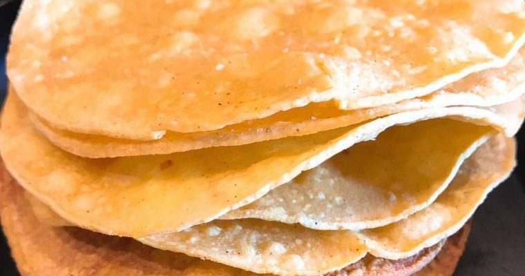 HOW TO: Baked Crunchy Tostada Shells