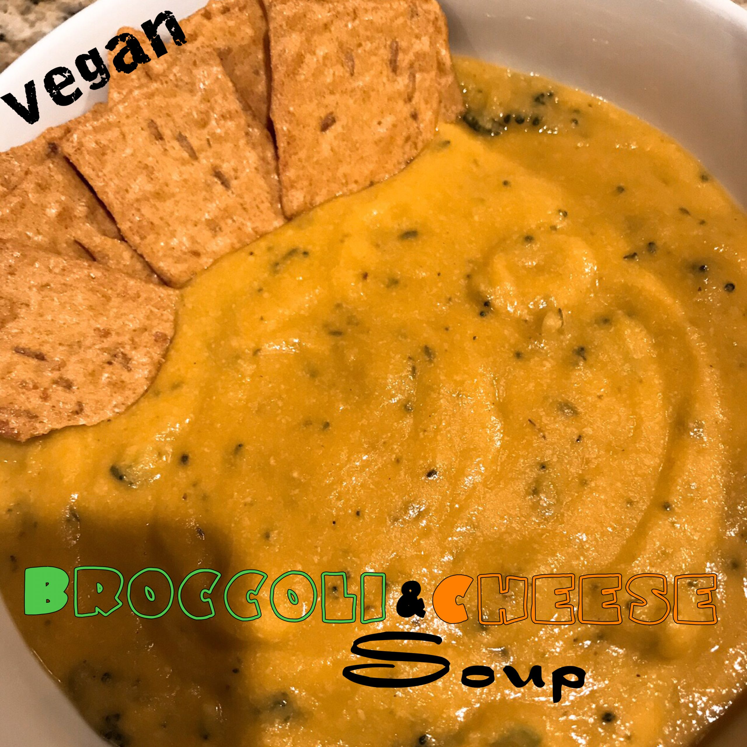 Vegan Broccoli & Cheese Soup