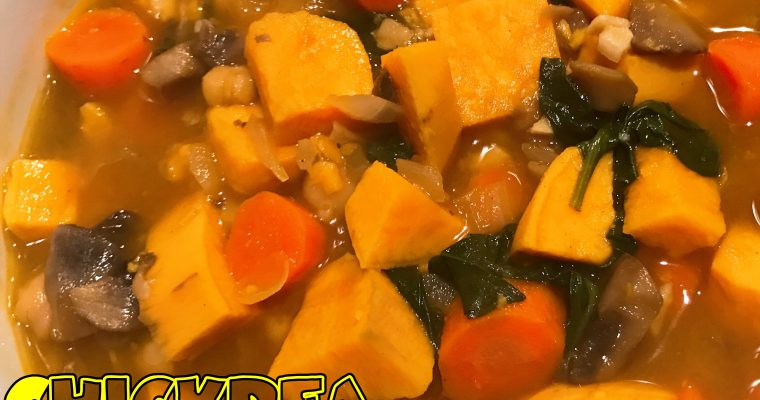 Vegan Chickpea & Vegetable Soup
