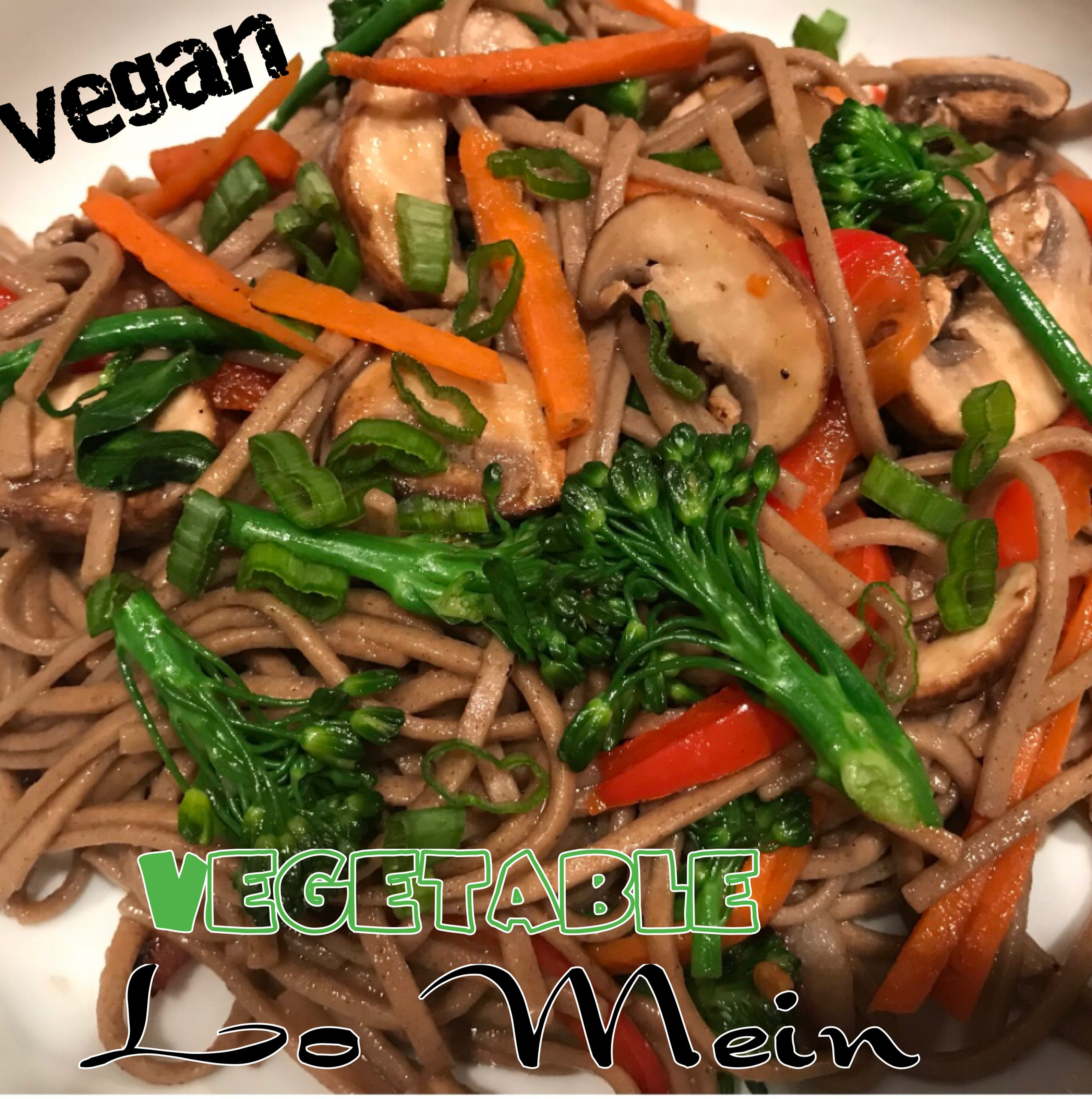 Vegan Vegetable Lo Mein