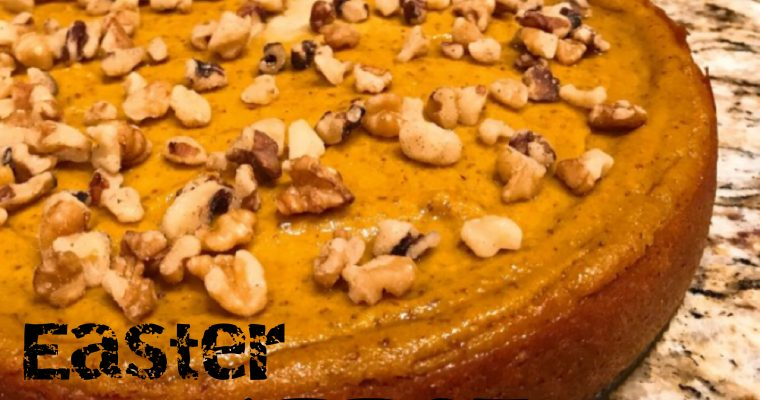 Vegan Easter Carrot Cheesecake