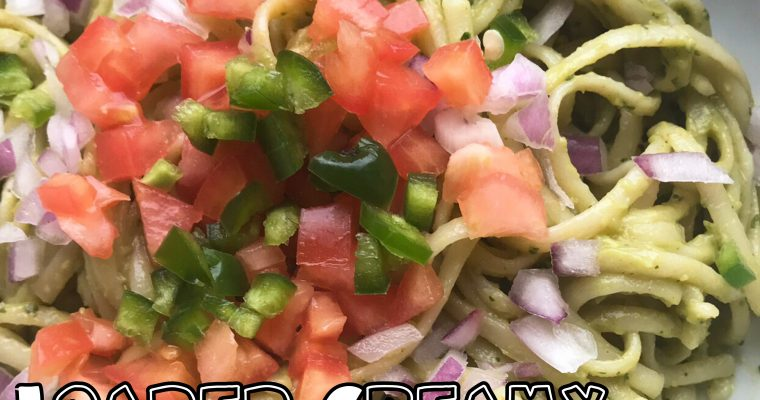 Protected: Vegan Loaded Guacamole Cream Linguine