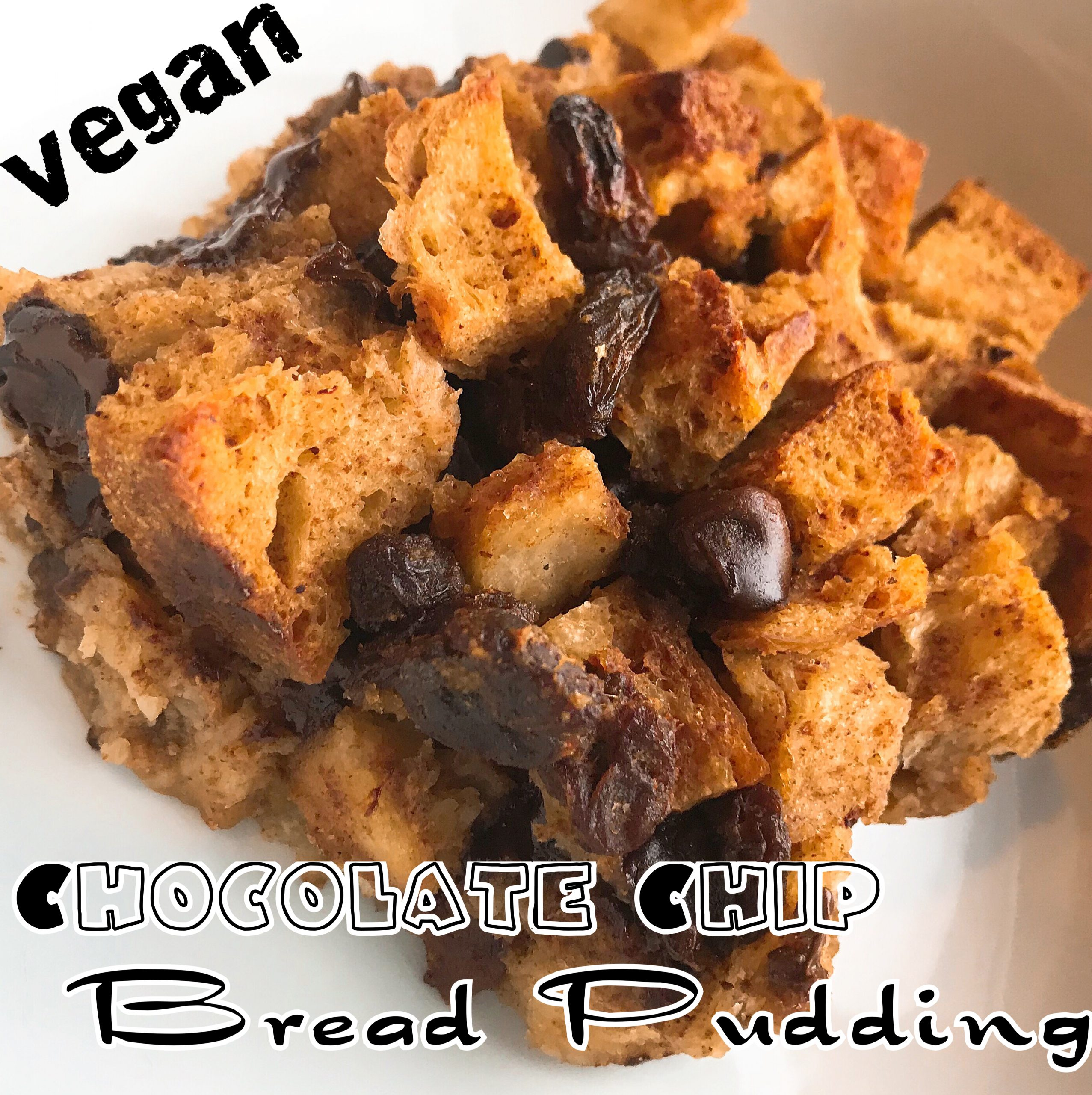 Protected: Vegan Chocolate Chip Bread Pudding