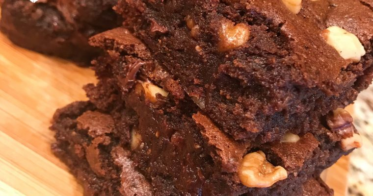 Protected: Vegan Fudgy Chickpea Brownies
