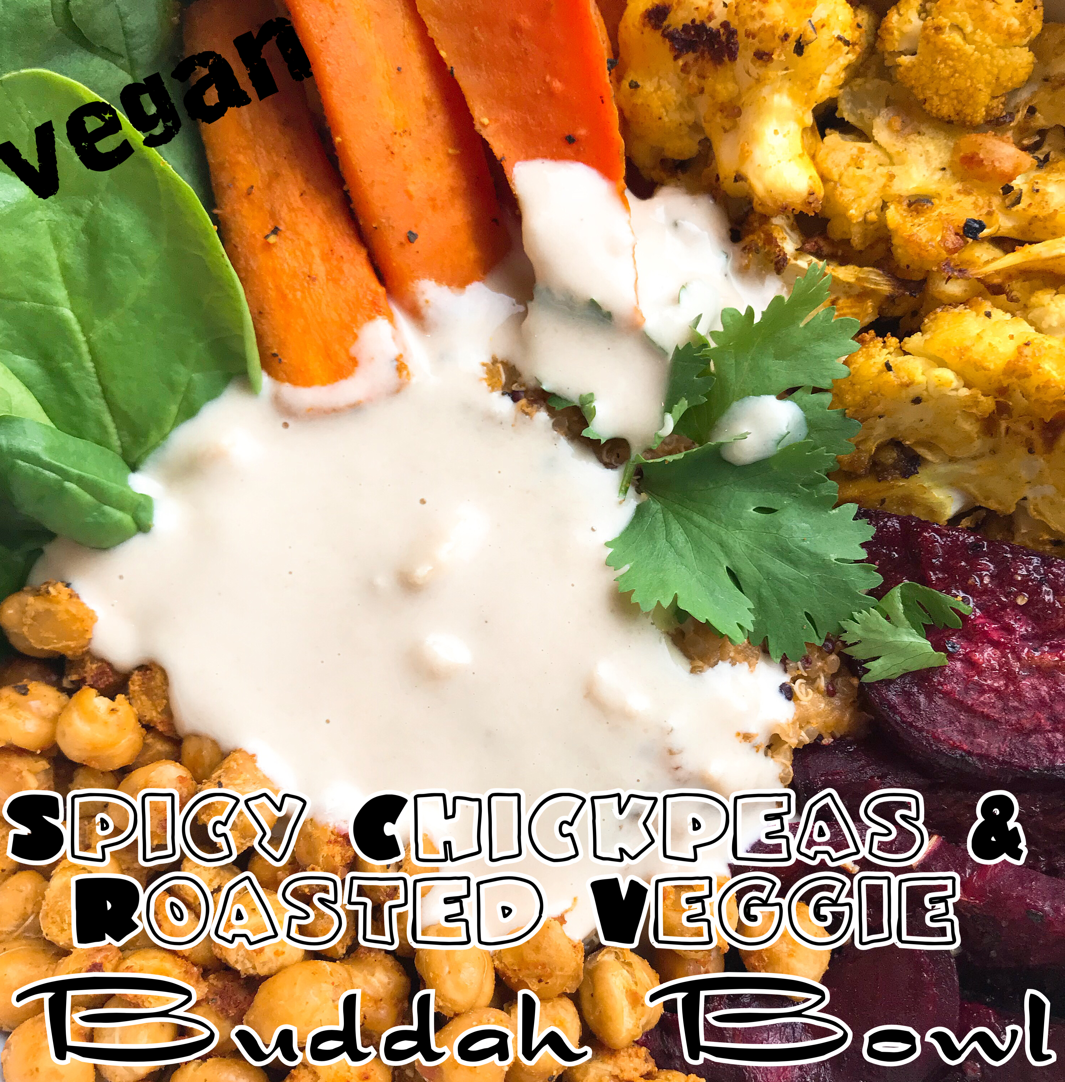 Protected: Vegan Spicy Chickpea & Roasted Veggie Buddah Bowl