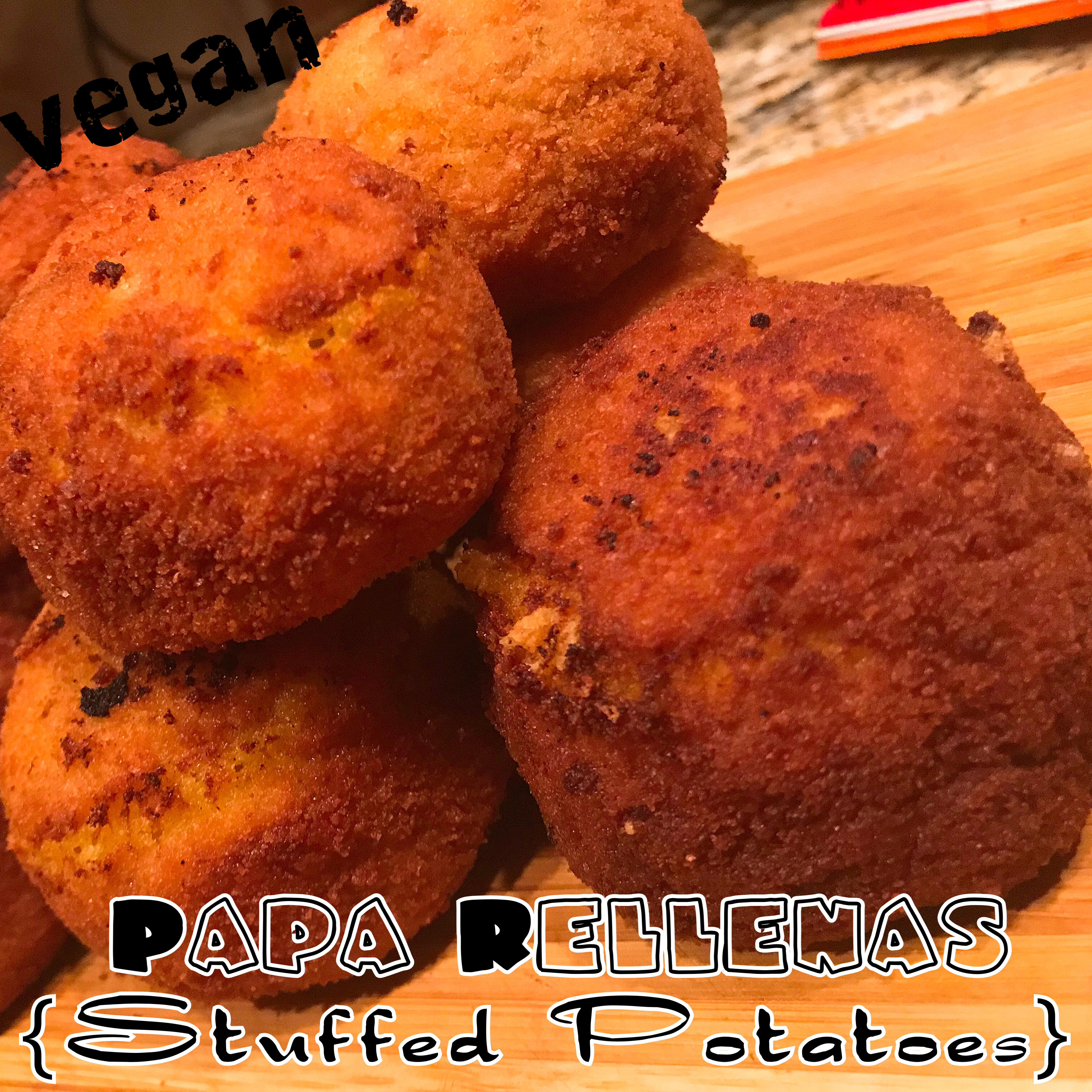 Protected: Vegan Papa Rellenas {Fried Stuffed Potatoes}