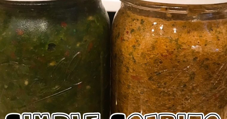 Protected: Simple Sofrito {Green and Red }